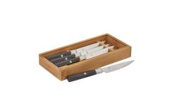 Zwilling J.A. Henckels Miyabi Koh 4 piece Steak Knife Set w/Bamboo Box