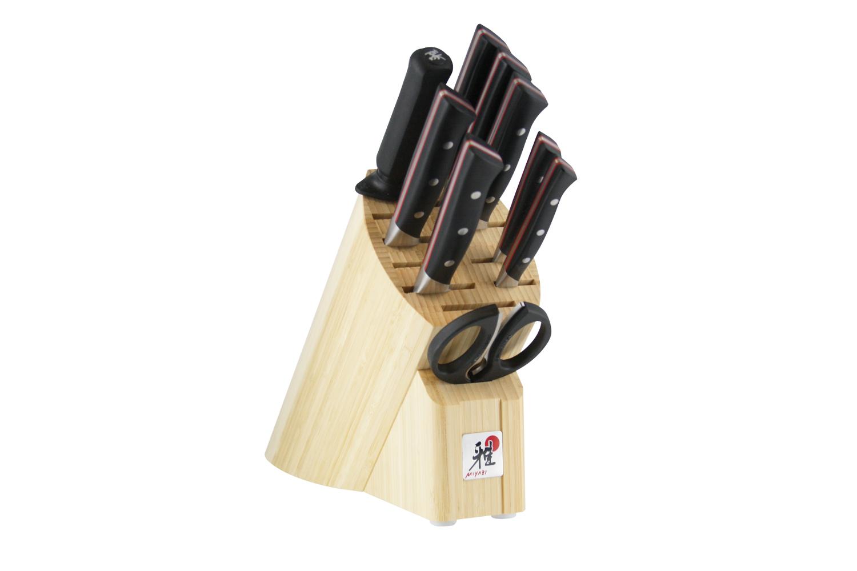 Miyabi Fusion 600D 10 Piece Knife Block Set