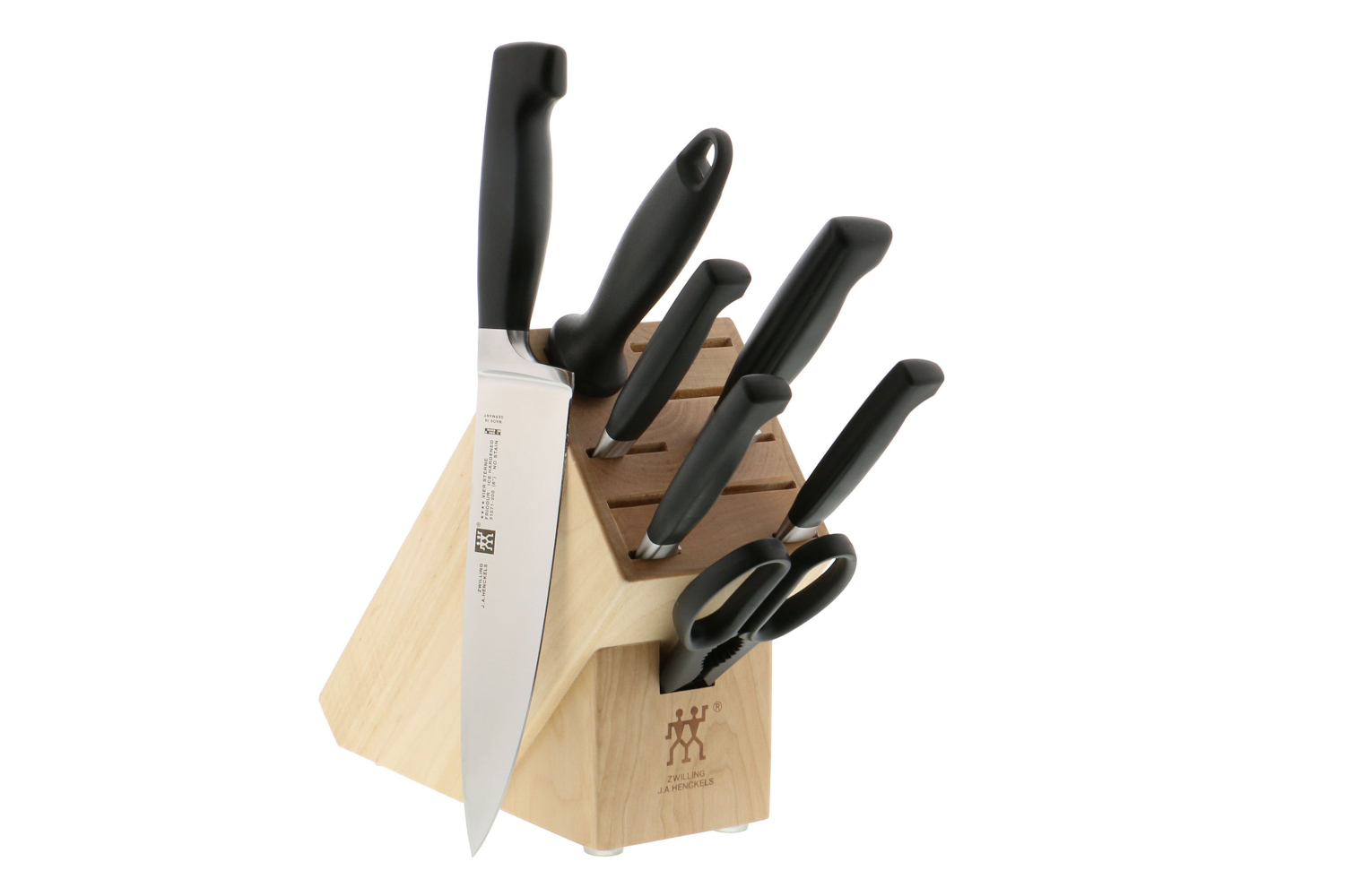 Zwilling Four Star 8 Piece Anniversary Knife Block Set