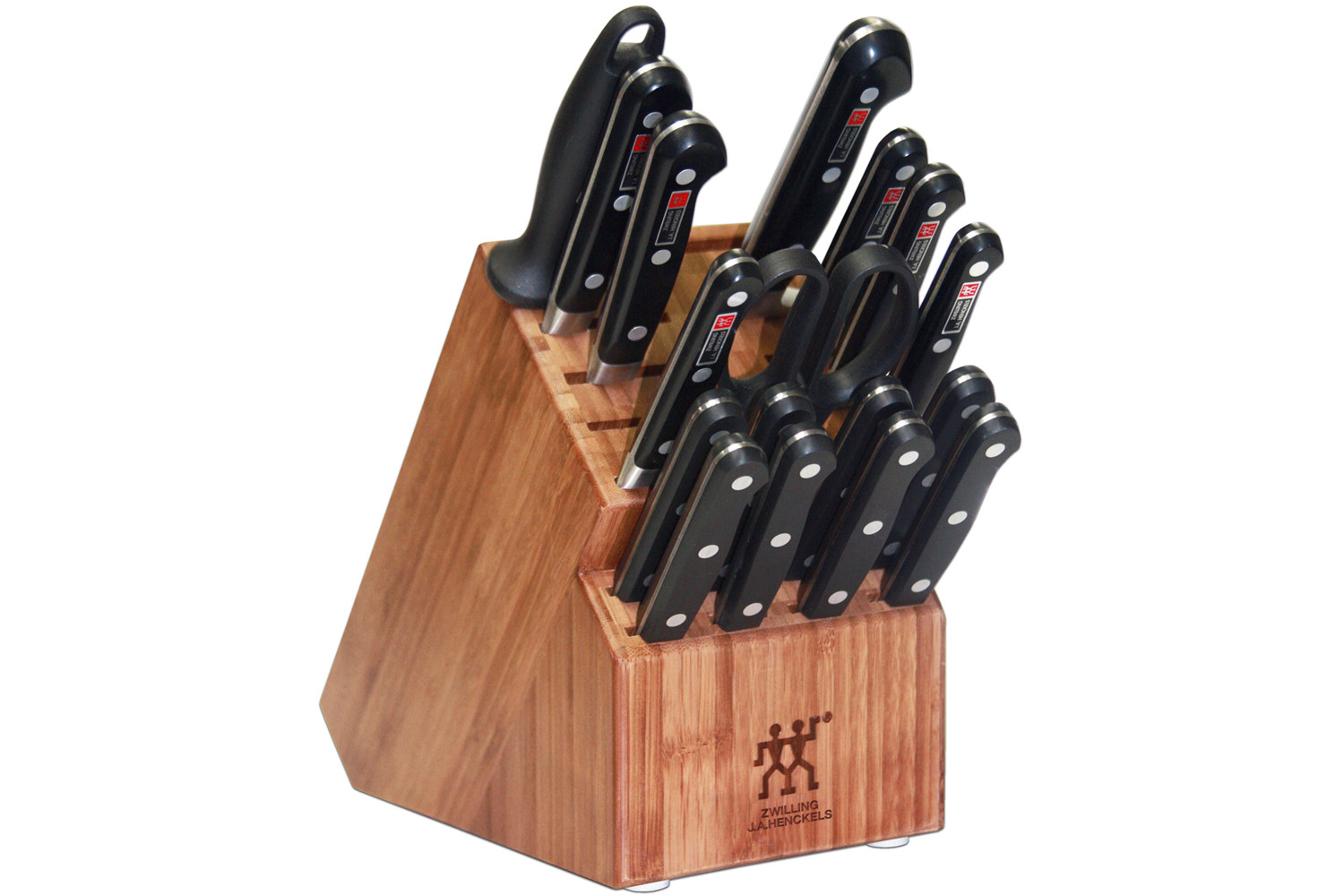 Henckels Pro S 18pc Knife Block Set 35617 100 Metrokitchen