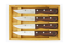 Zwilling 4 Piece Steakhouse Steak Knife Set w/Wood Box