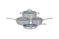 Zwilling Spirit 7 Piece Cookware Set - Ceramic Nonstick Coating