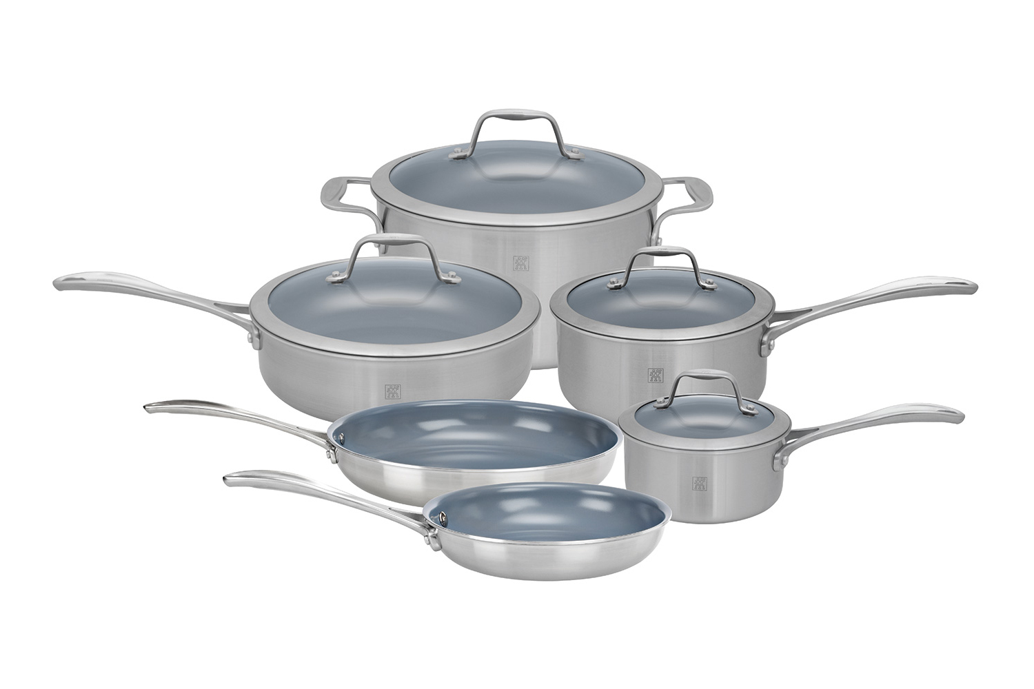 Zwilling Spirit 10 Piece Cookware Set - Ceramic Nonstick Coating