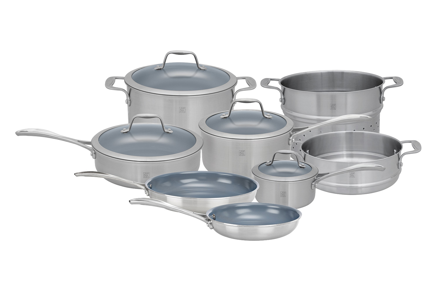 Zwilling J.A. Henckels Spirit 12 Piece Cookware Set - Ceramic Nonstick Coating