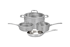 Zwilling Spirit 7 Piece Stainless Steel Cookware Set