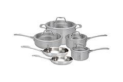 Zwilling Spirit 10 Piece Stainless Steel Cookware Set
