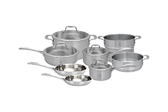 Zwilling Spirit 12 Piece Stainless Steel Cookware Set