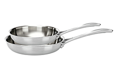 Zwilling J.A. Henckels Spirit 8 & 10 inch Fry Pan Set - Stainless Steel