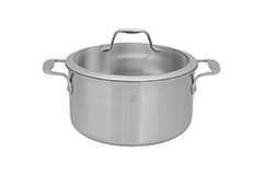 Zwilling J.A. Henckels Spirit 6 qt. Stainless Steel Dutch Oven w/Lid