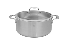 Zwilling J.A. Henckels Spirit 8 qt. Stainless Steel Dutch Oven w/Lid