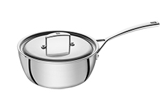 Zwilling Aurora 5-Ply Stainless Steel 2 qt. Saucier w/Lid