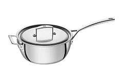Zwilling Aurora 5-Ply Stainless Steel 3 1/2 qt. Saucier w/Lid