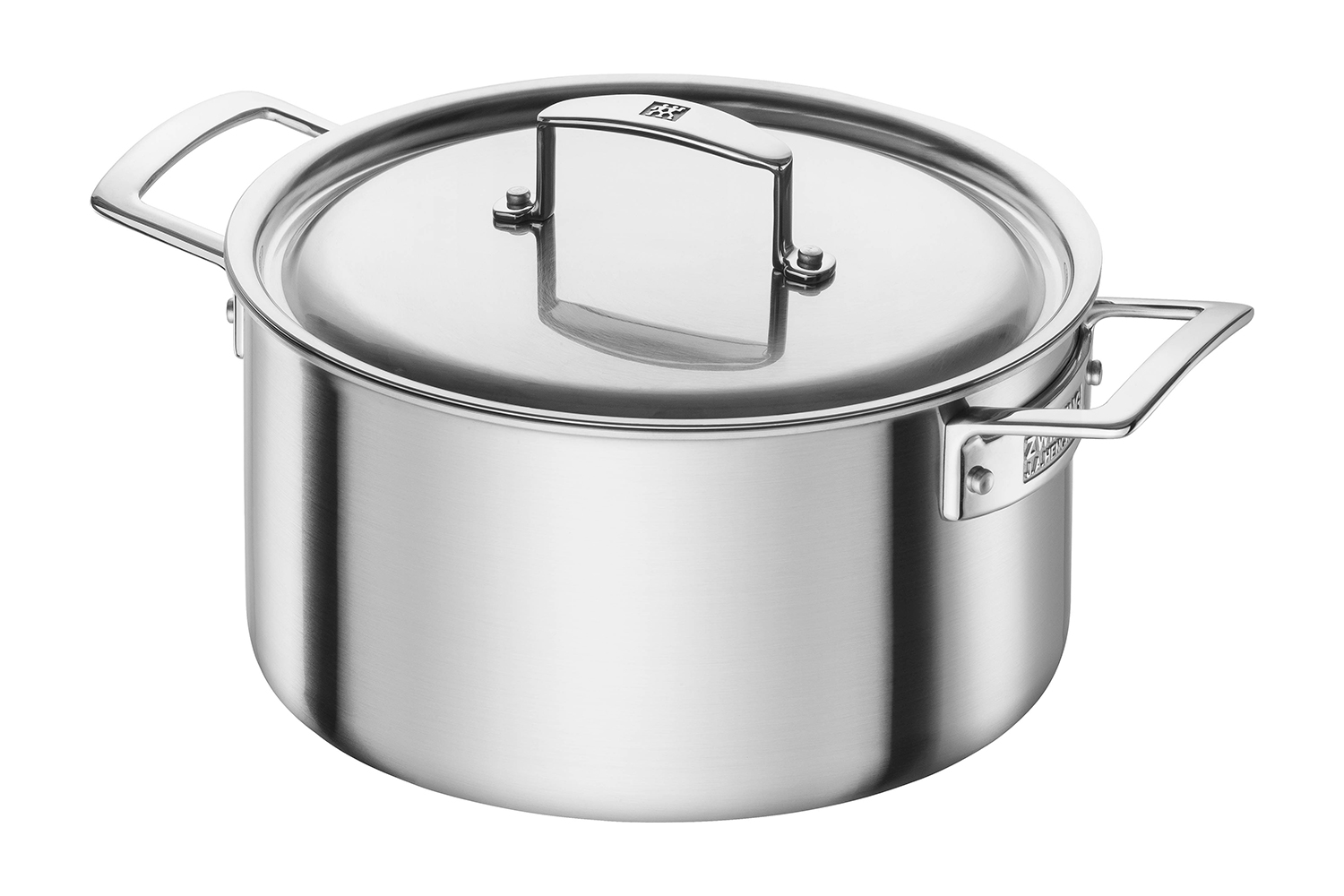 Zwilling J.A. Aurora 5-Ply Stainless Steel 5 1/2 qt. Dutch Oven w/Lid