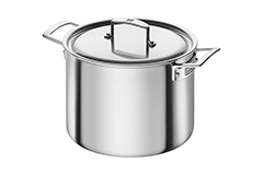 Zwilling Aurora 5-Ply Stainless Steel 8 qt. Stock Pot w/Lid
