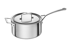 Zwilling J.A. Aurora 5-Ply Stainless Steel 4 qt. Sauce Pan w/Lid