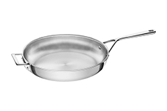 Zwilling J.A. Aurora 5-Ply Stainless Steel 12 1/2 inch Fry Pan