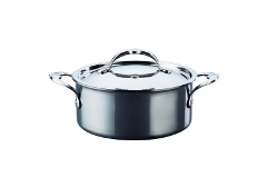 Hestan NanoBond Stainless Steel 3 qt. Covered Soup Pot