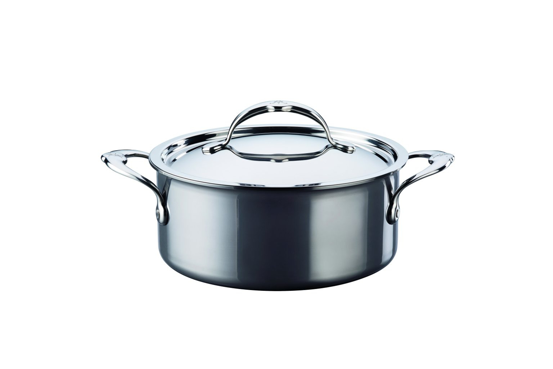 Hestan NanoBond Stainless Steel 3 qt. Covered Soup Pot