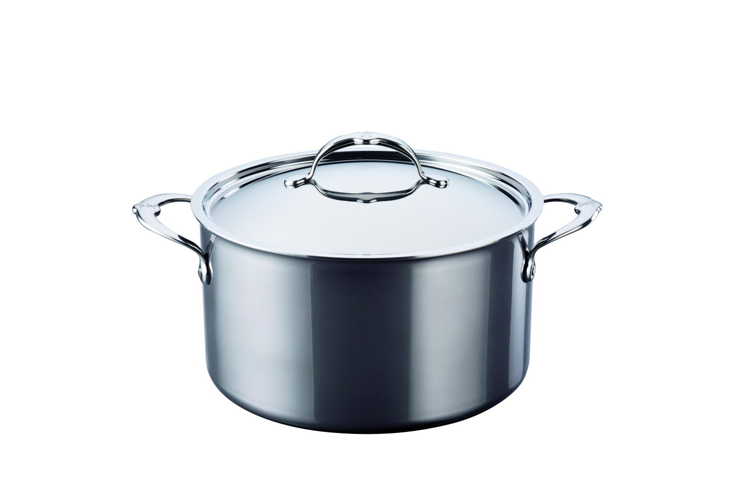 Hestan NanoBond Stainless Steel 8 qt. Covered Stockpot