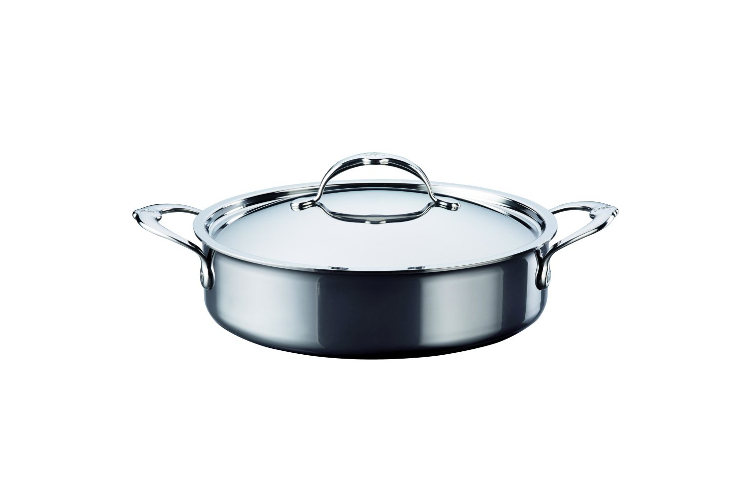Hestan NanoBond Stainless Steel 3 1/2 qt. Covered Sauteuse