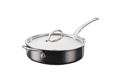Hestan NanoBond Stainless Steel 3 1/2 qt. Covered Saute w/Helper Handle