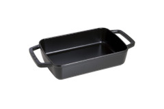 Staub Cast Iron 15 x 10 Roasting Pan - Matte Black