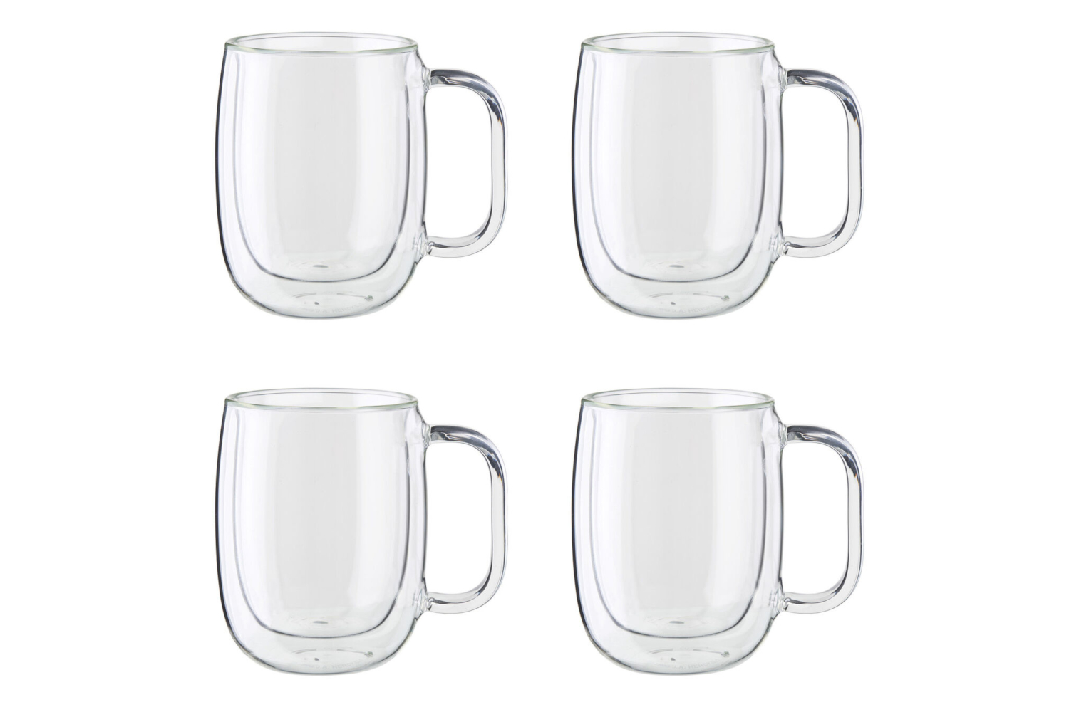 Zwilling Sorrento Plus Double Wall Coffee Cup Set - 12 oz