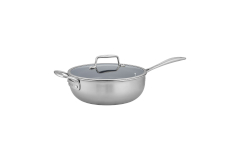 Zwilling CFX Stainless Steel 4.5 qt. Ceramic Nonstick Perfect Pan