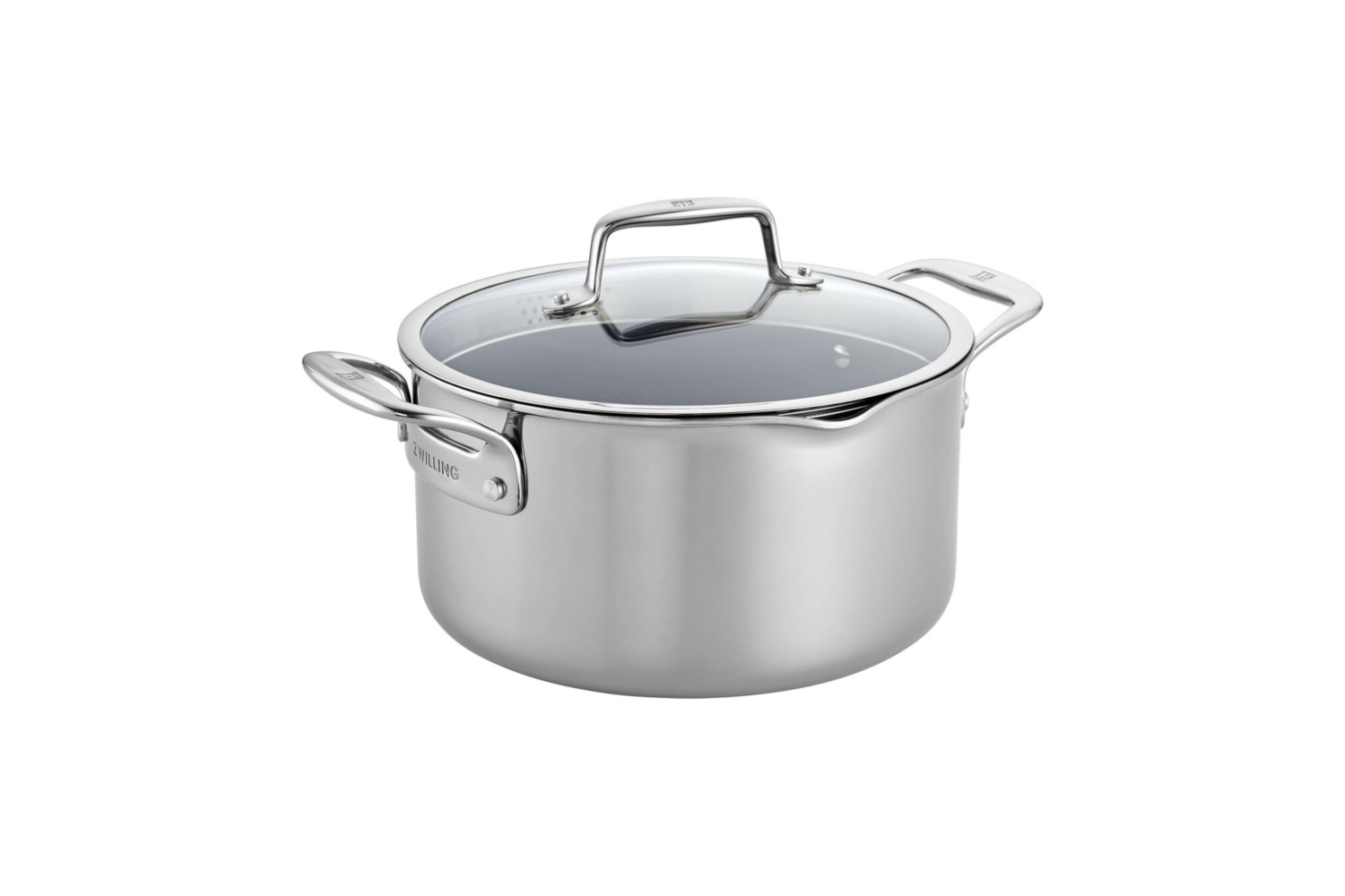 Zwilling CFX Stainless Steel 6 qt. Ceramic Nonstick Dutch Oven