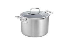 Zwilling CFX Stainless Steel 8 qt. Ceramic Nonstick Stock Pot