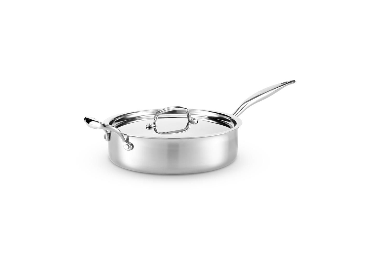 Hammer Stahl Stainless 7-Ply 4 qt. Saute w/Lid