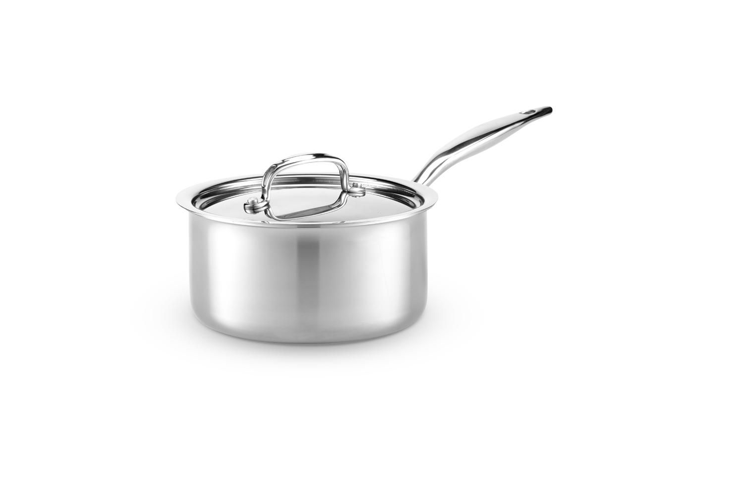Hammer Stahl Stainless 7-Ply 5 qt. Saute w/Lid
