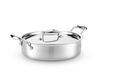 Hammer Stahl Stainless 7-Ply 4 qt. Sauteuse w/Lid