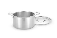 Hammer Stahl Stainless 7-Ply 8 qt. Stock Pot w/Lid