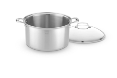 Hammer Stahl Stainless 7-Ply 12 qt. Stock Pot w/Lid