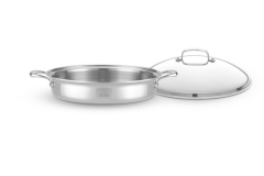 Hammer Stahl Stainless 7-Ply 5 qt. Sauteuse w/Lid