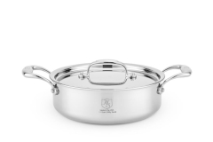 Hammer Stahl Stainless 7-Ply 2 1/2 qt. Sauteuse w/Lid