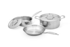 Hammer Stahl Heritage Steel Multi-Ply 5 Piece Cookware Set