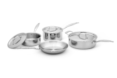Hammer Stahl Heritage Steel Multi-Ply 7 Piece Cookware Set
