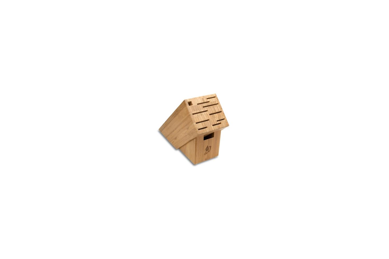 Shun 11 Slot Bamboo Knife Block