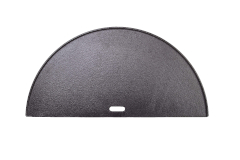 Kamado Joe Half Moon Cast Iron Griddle - Big Joe