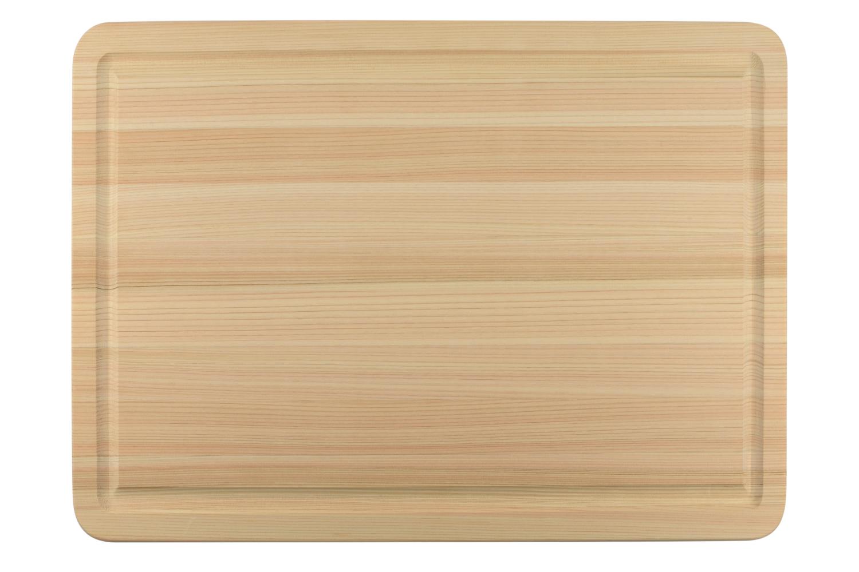 Shun Large Hinoki Cutting Board w/Juice Groove