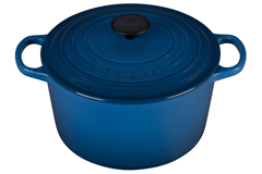 Le Creuset Enameled Cast Iron 5 1/4 qt. Round Deep Dutch Oven - Marseille
