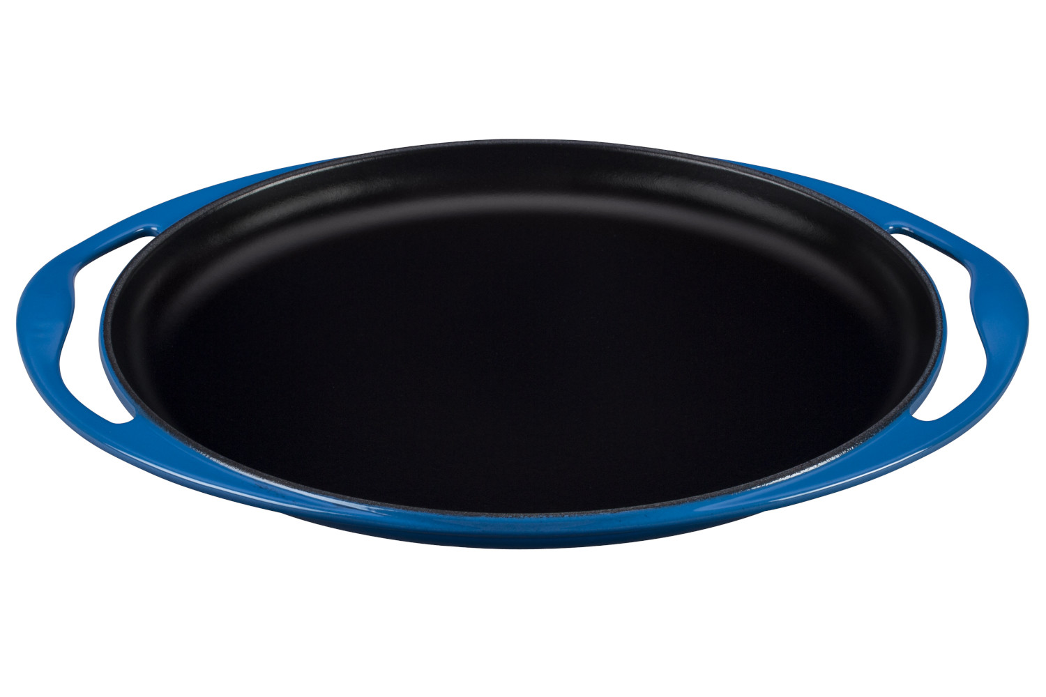 Le Creuset Enameled Cast Iron 12 1/4 inch Oval Skinny Griddle - Marseille