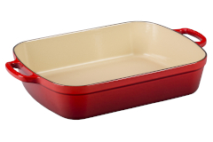 Le Creuset Signature Cast Iron 7 qt. Rectangular Roaster - Cerise