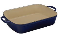 Le Creuset Signature Cast Iron 7 qt. Rectangular Roaster - Indigo