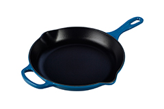 Le Creuset Signature Cast Iron 10 1/4 inch Iron Handle Fry Pan - Marseille