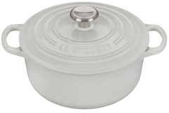 Le Creuset Signature Cast Iron 2 3/4 qt. Round Dutch Oven - White