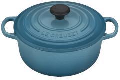 Le Creuset Signature Cast Iron 2 3/4 qt. Round Dutch Oven - Caribbean