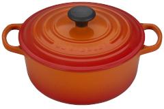 Le Creuset Signature Cast Iron 2 3/4 qt. Round Dutch Oven - Flame